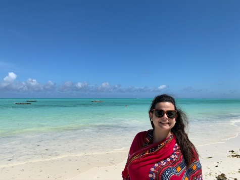 At my happy place. Somewhere near the Indian Ocean